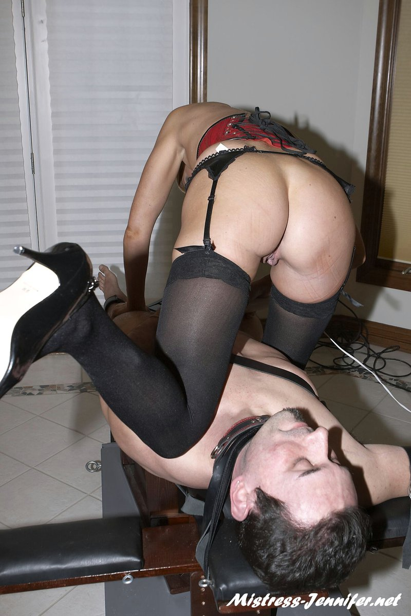 Female host orgasm